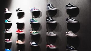 Launching shoe collection